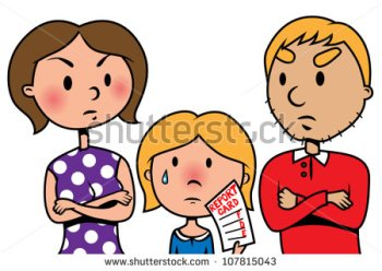 stock-vector-cartoon-vector-illustration-of-child-holding-bad-school-report-card-an-angry-parents-107815043