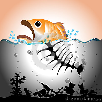 water-pollution-concept-illustration-fish-fish-bone-polluted-33390290