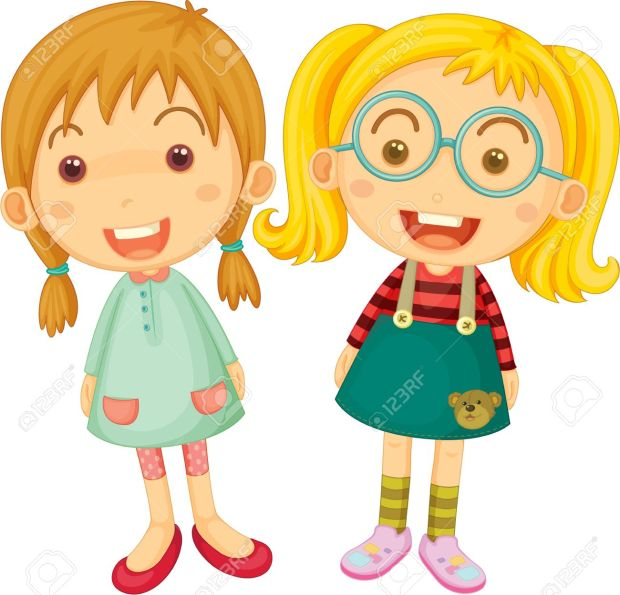 13059598-Illustration-of-Two-Girls-on-white-background-Stock-Vector-girls-cartoon-girl.jpg