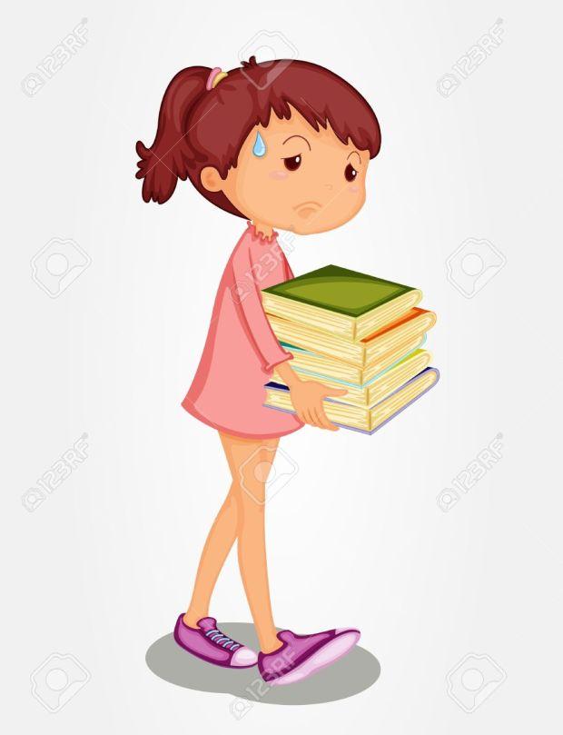 13233351-Isolated-girl-carrying-heavy-books-Stock-Vector-girl-cartoon-sad.jpg