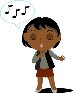clip_art_illustration_of_an_african_american_girl_singing_0071-1102-2813-4721_SMU