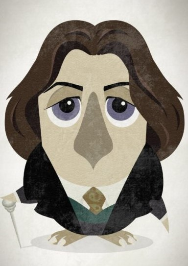 Great-authors-presented-as-owls-Oscar-Wilde-540x764
