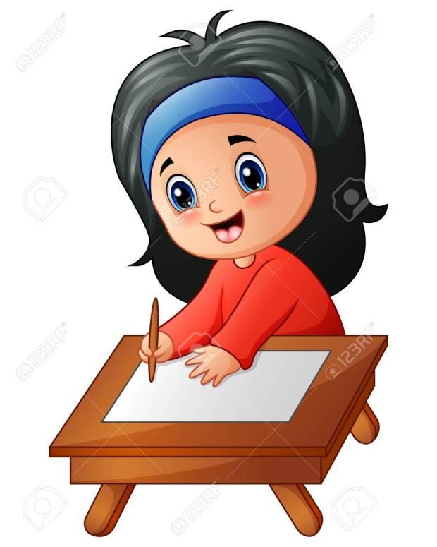 83226810-little-girl-cartoon-studying
